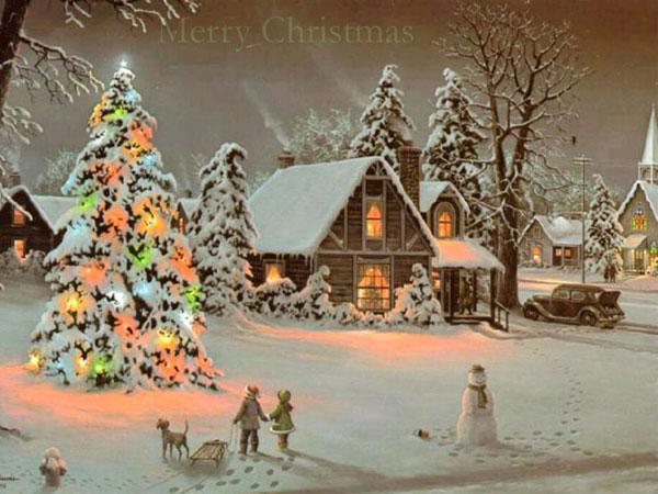 当年圣诞之夜简谱