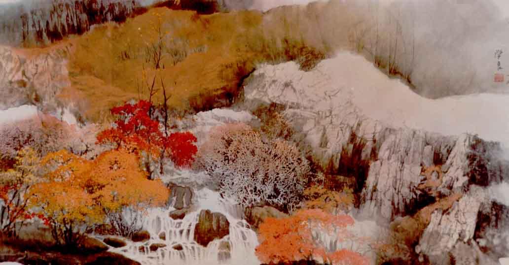 版画《可爱的家乡》获辽宁美展