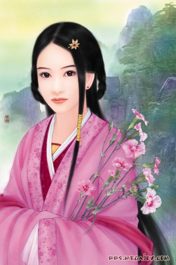 [2005-7-17]手绘古代四大美女