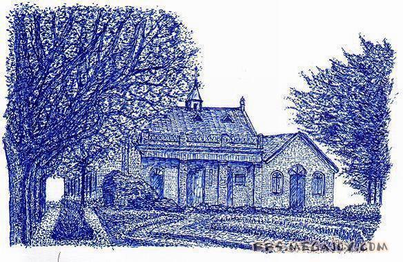 [2006-6-11]用圆珠笔画出来的风景画