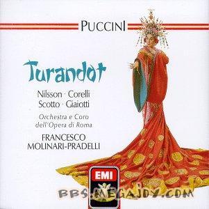 科莱里 尼尔森主演的歌剧 图兰多特 1966年版 ,320K S