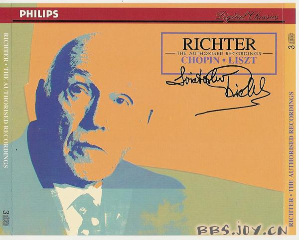 李赫特 The Authorized Recordings 肖邦 李斯特卷 CD2 ...