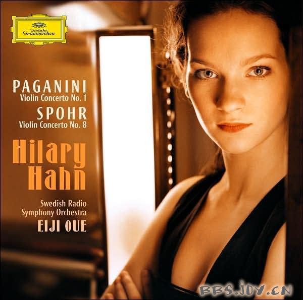 希拉里 哈恩 帕格尼尼 施波尔小提琴协奏曲 CD FLAC, 248...