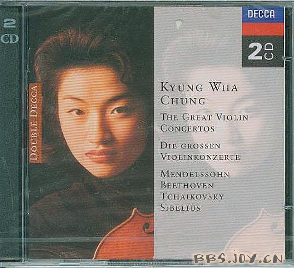 郑京和 伟大的小提琴协奏曲 门德尔松,贝多芬,柴可夫斯基,西...