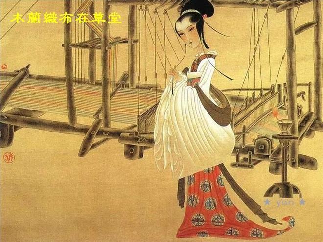 乐曲内容描写中国传说人物花木兰代父从军的故事.