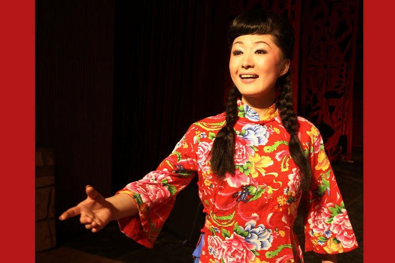 山西著名民歌手刘文涛演唱山西民歌《五哥放羊》