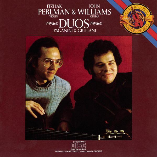 帕尔曼 威廉姆斯 1990年 小提琴与吉他二重奏 帕格尼尼 朱...