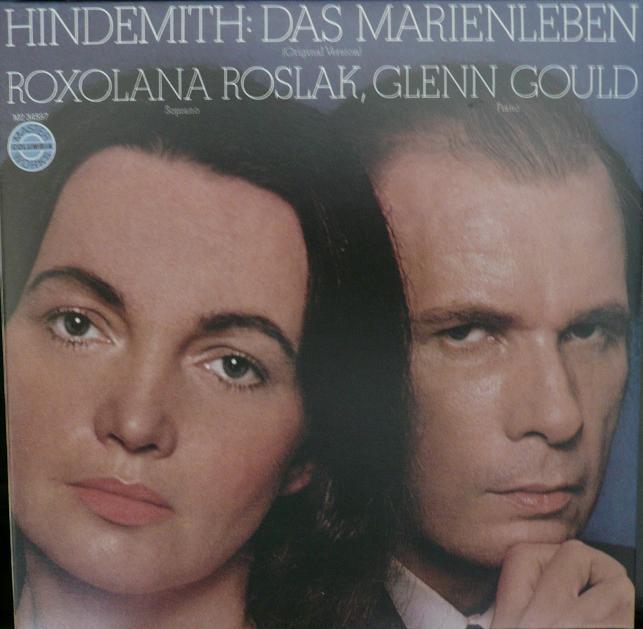 古尔德完全典藏纪念大全集 亨德米特艺术歌曲 玛丽的一生 ...
