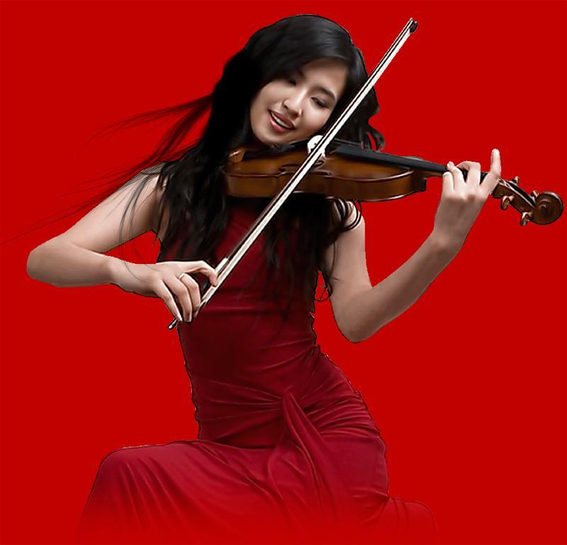 我和我的祖国--陈蓉晖小提琴曲125首 - 纽约文摘 - 纽约文摘